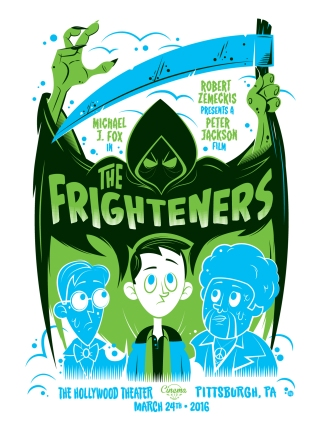 "Part XIII - The Frighteners by Dave Perillo (18x24"" 4 Color Screenprint)"