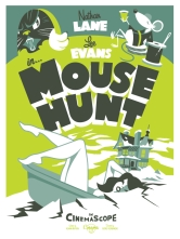 "Part X - Mouse Hunt by Brian Holderman (18x24"" 4 Color Screenprint)"