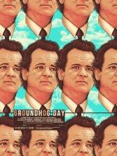 "Part XI - Groundhog Day by Matt Ryan Tobin (18x24"" 4 Color Screenprint)"