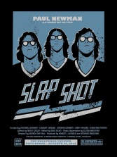 Part I – Slap Shot by Brian Holderman (18×24″ 2 Color Screenprint)