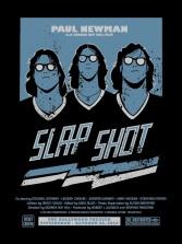 Part I – Slap Shot by Brian Holderman (18×24″ 2 Color Screenprint)
