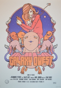"Part VII - Galaxy Quest by Mike Budai (18x24"" 8 Color Screenprint)"